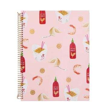 FOOD SPIRAL NOTEBOOK -0
