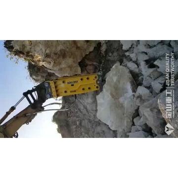 Herramientas hidráulicas montadas excavador Triturador hidráulico ligero de calidad Corea