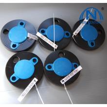 ASTM B16.5 300# Black Paint Threaded Flanges