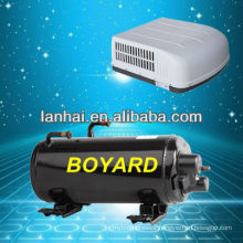 hermetic horizontal a/c kompressor for auto roof top mounting aire acondicionado air conditioner automobile