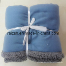 2016 Hot Style Soft Thick Warm Fleece Sherpa Banket