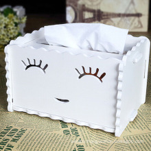 European Style Creative Design Wooden Tissue Box (ZJH036)