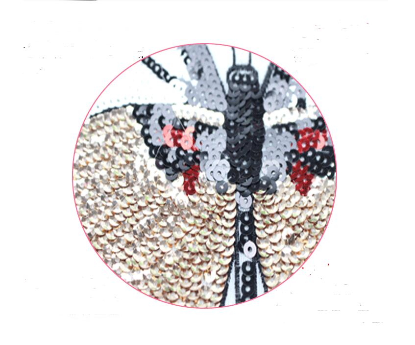 Fabric Patch Embroidery