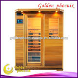 hotsale red cedar infrared sauna room