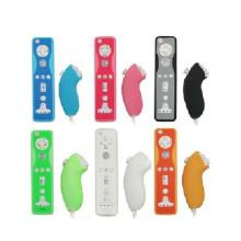 5 Couleur Silicone Case Couverture De Peau Souple Anti-Poussière En Caoutchouc Protection Couverture Pour Wii Télécommande Pour Wii Télécommande Joystick