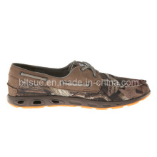 Zapatos de cuero del barco del nuevo estilo de la naturaleza