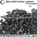 Carvão activado granulado em porca 8x30mesh Preço competitivo do carbono ativado por tonelada