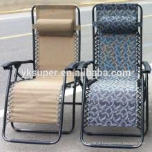 Cadeiras de espreguiçadeira dobráveis ao ar livre, cadeira de espreguiçadeira portátil / espreguiçadeira de praia dobrável
