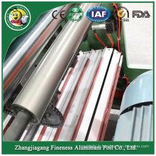 Rebobineuse automatique élégante de rouleau de papier de papier d'aluminium de catégorie supérieure