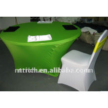Cheap lycra table cloth,used for banquet spandex chair cover