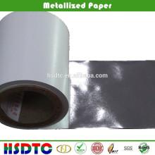 Papel metalizado plateado para impresión