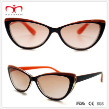 Fashion Ladies Sun Reader Glasses with Butterfly Shape (WRP503012)