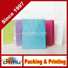 Custom Printed Gift Paper Kraft Bag (220004)