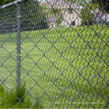 Cheap Industry customized galvanized chain link diamond mesh  wire fence for sale
