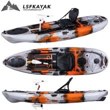 2021 LSF  Kayak Canoe Sit On Top Fishing Motor Kayak With Electric Trolling Motor