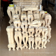 pernas de móveis de madeira