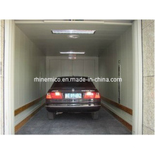 Automobile hydraulic car lift and elevator with diversified lifting modes