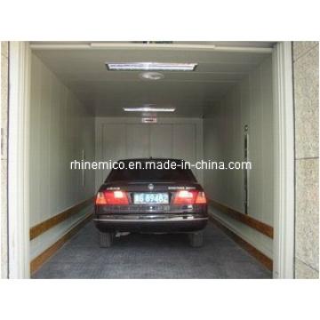 Ascensor y elevador hidráulico de automóviles con modos de elevación diversificados