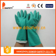 Green Nitrile Industry Glove DHL445