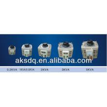 Regulador de tensão monofásico AC Auomatic (0.2KVA ~ 5KVA)