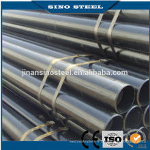 Tuyau d'acier au carbone ERW standard ASTM A53 A500 BS1387