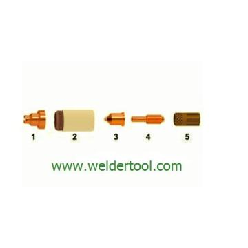 220048+120925 retaining cap plasma consumable parts