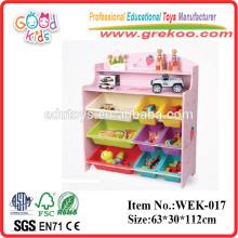 2014 neues Spielzeugregal für Kinder, populäres hölzernes Spielzeugregal, heißes Verkaufsspielzeugregal