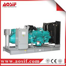 China 900kw / 1125kva generador usado a prueba de sonido KTA38-G4 generador diesel