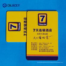 Tarjeta de hotel estándar Tarjeta de socio de hotel Tarjeta VIP de hotel / Nanjing