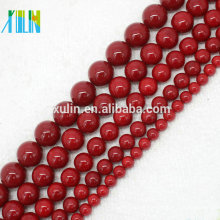venta al por mayor 3 mm 4 mm 6 mm 8 mm 10 mm natural shell rojo akoya pearl joyería de la ostra perlas
