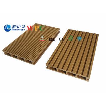 Placas compostas plásticas de madeira do Decking de 146X24mm WPC
