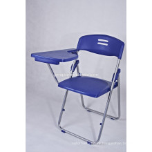 Metal student chair with writing board /folding small chair/palstic chair