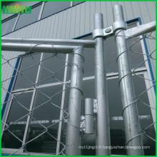 Construction en acier soudé standard de nouvelle zélande clôture temporaire