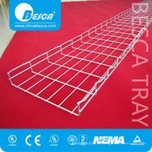 Malha de cabos com acessórios personalizados para suporte de cabos