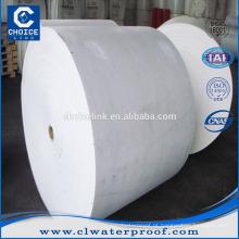 Poliéster spunbond tecido não tecido para membranas APP / SBS impermeável