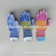 flocklined latex hand gloves