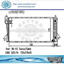Auto Kühler für Ford Taurus Sable 96-03 OEM: F6DH8005BB / F6DZ8005A / 2F1Z8005AA