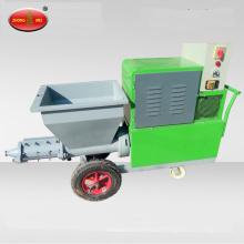 Máquina de pulverização de massa de vidraceiro Máquina de reboco de pulverização de cimento