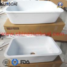 Enamel Kitchen Sink/Single Bowl Deep Basin