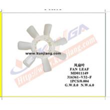 Auto Fan Leaf for Mitsubishi Pajero′92-95 V32/P03 (316361-V32-F)