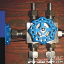 Forged Steel A105/Lf2/F11/F304/F316 Manifold Valve