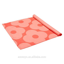 eco-friendly printing pattern flower yoga mat towel YT-003