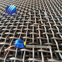 Malla de malla de la cantera de piedra 30Mn Malla de malla de malla 65Mn de alambre de piedra