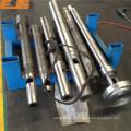 injection moule machine vis Canon avec traitement nitruré et bimétallique