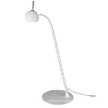 eye-protecting mirror finished 7W led desk lamp aluminum 5500k touch switch