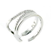 El anillo más nuevo de la joyería de la plata esterlina de la manera 925 de la venta caliente (R10400)