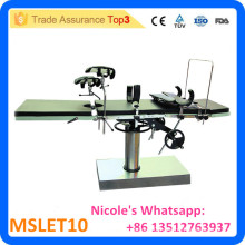 MSLET10 Hospital Ordinary operating table easy to operate