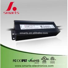 IP67 imperméable 100W 24v DALI dimmable alimentation à tension constante