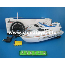 RC Toy 4channels R/C Ship with Electricity (836706)