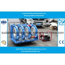 Encaixes de tubulação plásticos do HDPE de 280mm / de 450mm que articulam a máquina